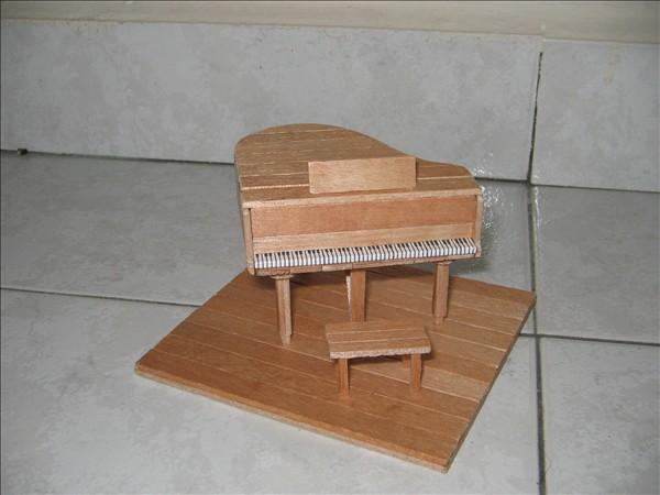 雪糕棍钢琴步骤图